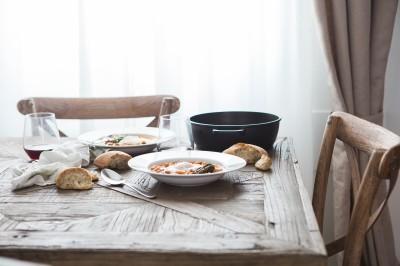 家庭の食卓